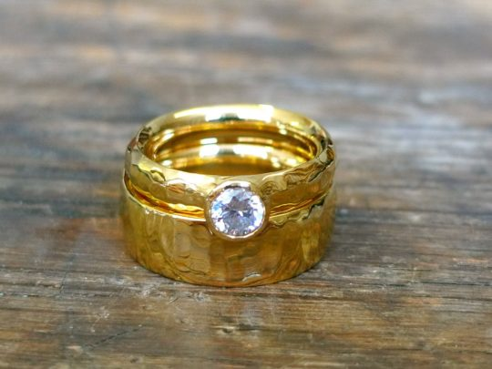 Tawny Phillips - Ripple Diamond Engagement and Wedding Ring